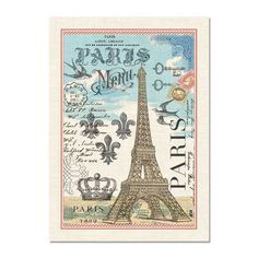 Michel Design Works Cotton Kitchen Tea Towel Paris Eiffel Tower   NEW  #MichelDesignWoks