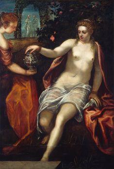 Tintoretto (1518 - 1594, Italy) - Susanna - c. 1575