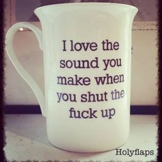 Large Bone China 'There are 7 Billion people in the world. I like about 6 of you fuckers' Mug Best Coffee Mugs, Coffee Type, Great Coffee, Funny Coffee Mugs, Funny Mugs, My Coffee, Morning Coffee, Mug Shots, Just For Laughs