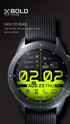 Samsung Galaxy Watch Faces – [pin_pinter_full_name] Samsung Galaxy Watch Faces Amazing Watches, Cool Watches, Watches For Men, Popular Watches, Stylish Watches, Luxury Watches, Ux Design, Face Design, Men's Accessories