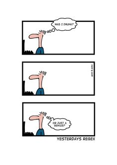 Regex - confusing every developer, ever, forever. #developer humor