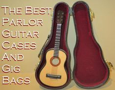 Here are the best guitar cases and gig bags designed to fit the smaller sizes of parlor guitars. Guitar Case, Cool Guitar, Classical Guitar, Acoustic Guitars, Music Instruments, Cases, Fit, Acoustic Guitar, Musical Instruments