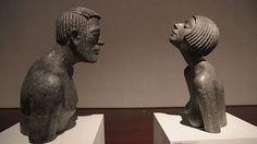 Sochař Olbram Zoubek využívá také světla a stíny. Architectural Sculpture, Prague, Buddha, Bronze, Artist, Kunst, Artists