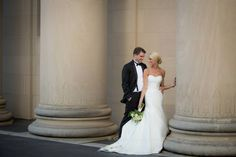 http://www.bridalextraordinaire.com/  Again, the Nelson Atkins is the perfect spot for the wedding pics -Photo by Andrea DeLong Photography-