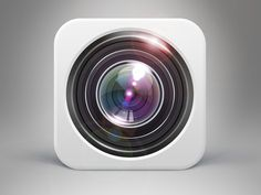 pinterest.com/fra411 #Apps #Icon - Camera icon by Seven