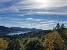 McCloud arm in Lake Shasta. View from the back deck of a vacation rental home. Lake head CA [4032x3024]