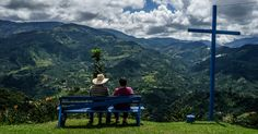 A Journey to Colombia's Coffee Belt  In the northern reaches of the Andes — where the coffee bean is as central to life as corn is to small town Iowa — a welcoming spirit prevails.