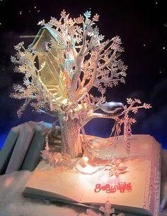 Tchoubi ::: Petites histoires créatives: Vitrines de Noël