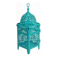 Lanterna Marroquina - Azul