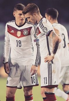 Toni Kroos and Marco Reus