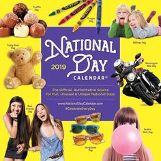 What Are the National Days in August? - Get the Calendar to Find Out! - Get the Calendar to Find Out! National Days In October, List Of National Days, National Months, National Pet Day, December 4, Crayon Days, National Girlfriend Day, Girlfriends Day, Teddy Day