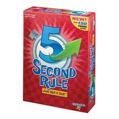 PlayMonster 5 Second Rule Game - New Edition - Toys Fun Board Games, Fun Games, Party Games, Games To Play, Quick Games, Trivia Games, Board Game Online, Online Games, Play Online