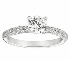"""""""The term Pave is from the French word Pave (pah-vey), as in paving a street. The word was quite descriptive of the diamond setting style in which small diamonds are used to literally pave an area of a ring or other jewelry item."""" #trentetrente #micropave #everybodywantswhatyougot https://instagram.com/p/Be-f2umn-2V/"""