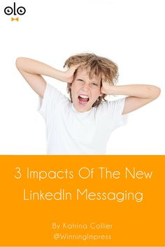 3 Things To Know About LinkedIn Messaging, Right Now! Maybe to increase usage, the LinkedIn messaging platform has been overhauled & you'll definitely want to know about these 3 things! Tips from Katrina Collier
