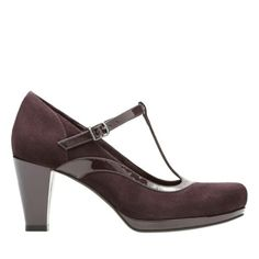 159693fcc79d Chorus Pitch Aubergine Leather Combi womens-heels  110 Navy Shoes
