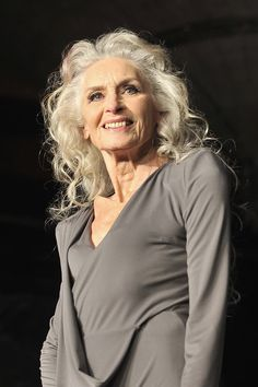 Daphne selfe, model, strikes a pose for tk maxx (photos, video) Daphne Selfe, Yasmina Rossi, Model Shooting, Saint Emilion, Older Models, Advanced Style, Ageless Beauty, Office Fashion Women, Tk Maxx