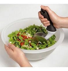 My most favorite #kitchen gadget EVER!! Salad Chopper - I love my chopped salads!!!