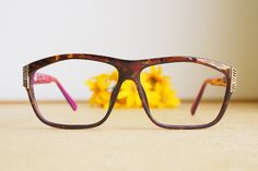 58bb43f9b7 Vintage Christian Dior Eyeglasses 1980s Glasses New Old  Stock hipster retro disco frames Oversize Multicolor Frame Made In Germany  optyl