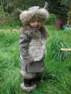 Viking Warrior Costume! Hahaha