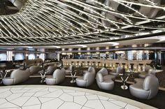 MSC Divina - The Black & White Lounge