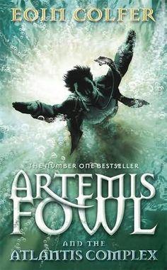 Artemis Fowl and the Atlantis Complex, book seven of nine.
