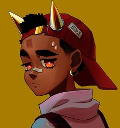 Dope Cartoon Art, Dope Cartoons, Boondocks Drawings, Anime Rapper, Fantasma Danny, Black Cartoon Characters, Cute Instagram Captions, Small Canvas Art, Black Art Pictures