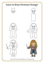Afbeeldingsresultaat voor how to draw harry potter