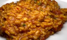 Tomaten-Sardellen-Risotto