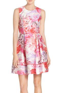 Vince Camuto Dress, Fit Flare Dress, Nordstrom Dresses, Pink Dress, Floral Prints, Summer Dresses, Skirt, Women, Polyvore