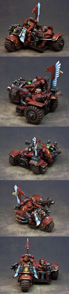 Attack Bike, Blood Angels, Space Marines