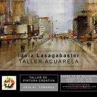 Taller Acuarela Idoia Lasagabaster Watercolor Artists, Watercolour