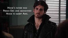 """Hook will have a score to settle with Ariel. 