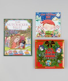 Take a look at this The Littlest Elf Paperback & Hardcover Set by Scholastic on #zulily today!