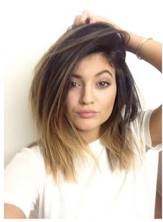 Getting my hair cut and dyed like this