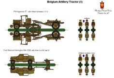 Belgian Artillery Tractor