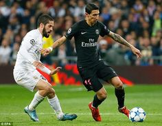 Angel di Maria put in a fine display on his return to the Bernabeu on Tuesday as PSG lost 1-0 to Real Madrid