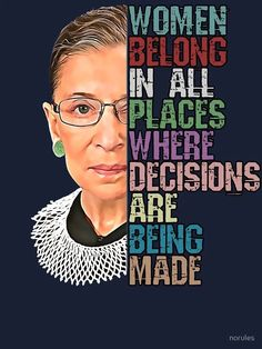 10+ Justice Ruth Bader Ginsburg Quotes to Inspire Girls, Women and Everyone - BellyitchBlog Great Quotes, Quotes To Live By, Me Quotes, Inspirational Quotes, Qoutes, Wild Quotes, Motivational Messages, Ruth Bader Ginsburg Quotes, Justice Ruth Bader Ginsburg
