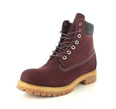 Timberland Men's 6 inch Premium Boot (11 D(M) US, Dark Port) *** Be sure to check out this awesome product.