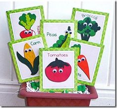 Vegetable storytime, has a great rhyme I will definitely use in the future.