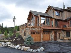 First time this new high end, 4,000 square foot duplex has been offered as a vacation rental! Enjoy the amazing views of the Tenmile Mountain range and the Breckenridge Ski Resort. This home has a perfect location ...
