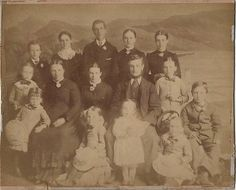 Cabinet Photo Victorian Family Dress Fashion Hugh Owen of Barmouth Wales 1890s | eBay