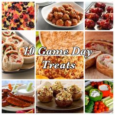 10 Game Day Treats
