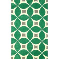 Gabriela Emerald (Green) 7 ft. 6 in. x 9 ft. 6 in. Area Rug