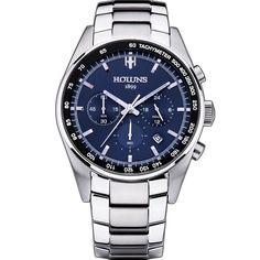 HOLUNS Luxury Stainless Steel Quartz Watch