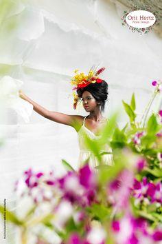 Floral Design & Styling - Orit Hertz Photography & production - Meital Solomon Model- Almadis Anyo Makeup - Michal Ofir Hair - Yair Stern