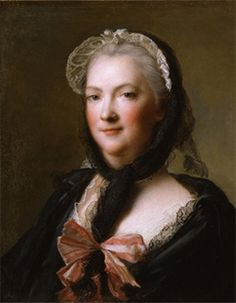 Marie Lezcinska, wife of Louis XV, Queen of France by Jean Marc Nattier