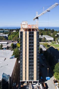 """Gallery of """"World's Tallest Timber Tower"""" Tops Out in Vancouver - 6"""
