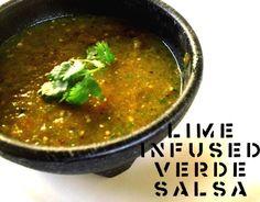 Lime Infused Verde Salsa #vegan #glutenfree