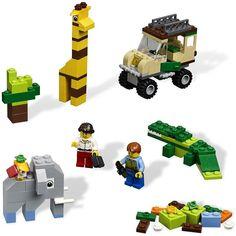 Lego instruction manual finder - Zoo animals
