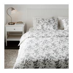 ALVINE KVIST Capa de edredão e 2 fronhas - 240x220/50x60cm - IKEA